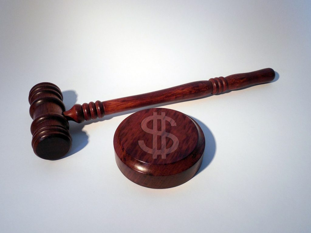 Marteau du tribunal
